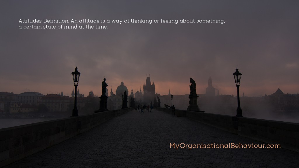 Attitudes in Organisations Wallpaper