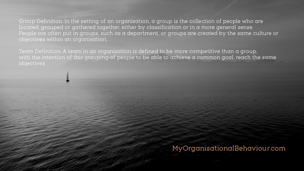 Groups and Teams in Organisations Wallpaper