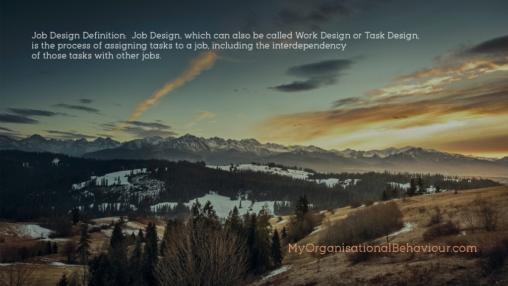 Job Design in Organisations Wallpaper